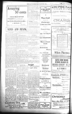 The Daily Deadwood Pioneer-Times from Deadwood, South Dakota on December 16, 1900 · Page 4
