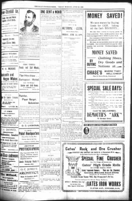 The Daily Deadwood Pioneer-Times from Deadwood, South Dakota on June 23, 1899 · Page 3