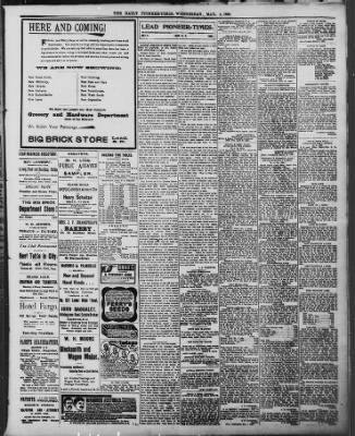 The Daily Deadwood Pioneer-Times from Deadwood, South Dakota on May 4, 1898 · Page 3