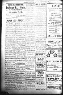 The Daily Deadwood Pioneer-Times from Deadwood, South Dakota on June 28, 1899 · Page 4