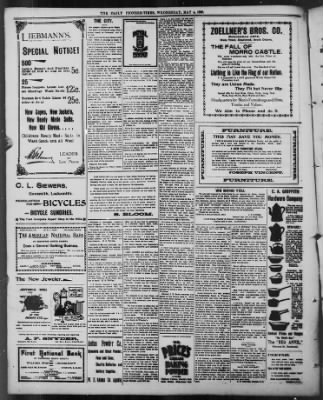 The Daily Deadwood Pioneer-Times from Deadwood, South Dakota on May 4, 1898 · Page 4