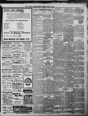 The Daily Deadwood Pioneer-Times from Deadwood, South Dakota on May 8, 1898 · Page 3