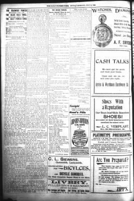 The Daily Deadwood Pioneer-Times from Deadwood, South Dakota on July 2, 1899 · Page 2