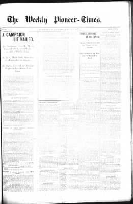 The Weekly Pioneer-Times from Deadwood, South Dakota on October 25, 1900 · Page 9