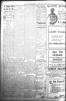 The Daily Deadwood Pioneer-Times from Deadwood, South Dakota on July 8, 1899 · Page 2