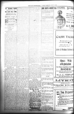 The Daily Deadwood Pioneer-Times from Deadwood, South Dakota on July 11, 1899 · Page 2