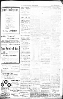 The Lead Daily Pioneer-Times from Lead, South Dakota on September 23, 1900 · Page 7