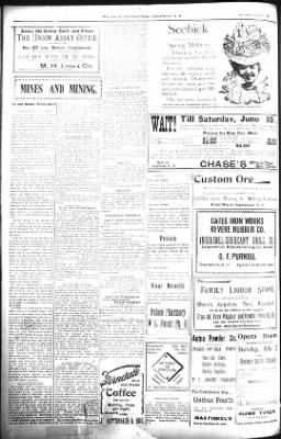 The Daily Deadwood Pioneer-Times from Deadwood, South Dakota on June 30, 1900 · Page 6