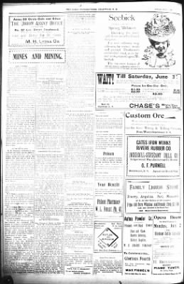 The Daily Deadwood Pioneer-Times from Deadwood, South Dakota on July 1, 1900 · Page 4