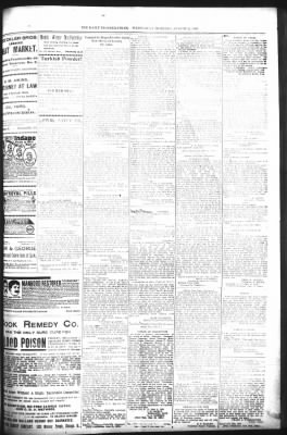 The Daily Deadwood Pioneer-Times from Deadwood, South Dakota on August 2,  1899 · Page 7