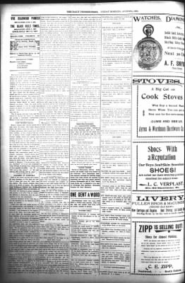 The Daily Deadwood Pioneer-Times from Deadwood, South Dakota on August 4, 1899 · Page 2