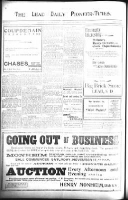 The Lead Daily Pioneer-Times from Lead, South Dakota on November 21, 1900 · Page 6