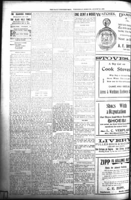 The Daily Deadwood Pioneer-Times from Deadwood, South Dakota on August 16, 1899 · Page 2