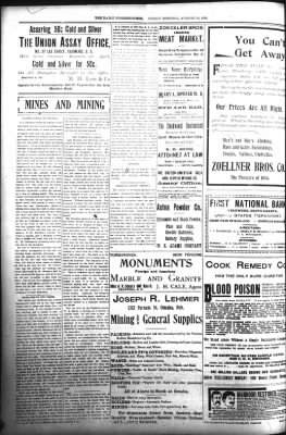The Daily Deadwood Pioneer-Times from Deadwood, South Dakota on August 18, 1899 · Page 4
