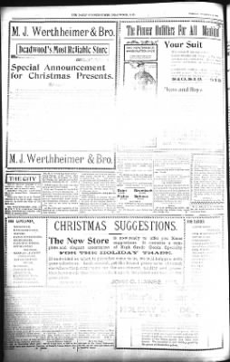 The Lead Daily Pioneer-Times from Lead, South Dakota on December 18, 1900 · Page 8
