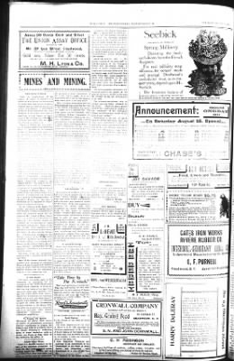 The Daily Deadwood Pioneer-Times from Deadwood, South Dakota on August 18, 1900 · Page 4