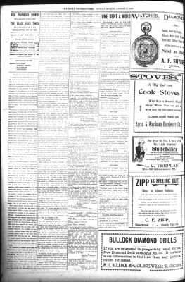 The Daily Deadwood Pioneer-Times from Deadwood, South Dakota on August 27, 1899 · Page 2