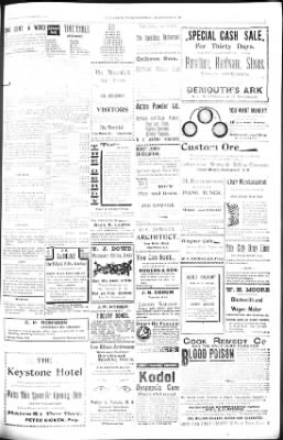 The Daily Deadwood Pioneer-Times from Deadwood, South Dakota on September 12, 1900 · Page 3