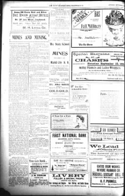 The Daily Deadwood Pioneer-Times from Deadwood, South Dakota on September 15, 1900 · Page 4