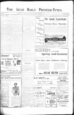 The Lead Daily Pioneer-Times from Lead, South Dakota on May 23, 1900 · Page 7