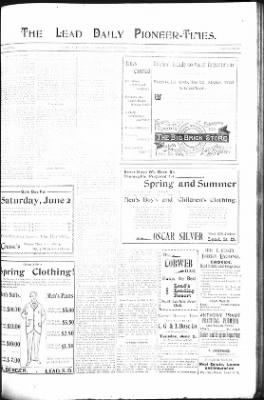 The Lead Daily Pioneer-Times from Lead, South Dakota on May 31, 1900 · Page 15