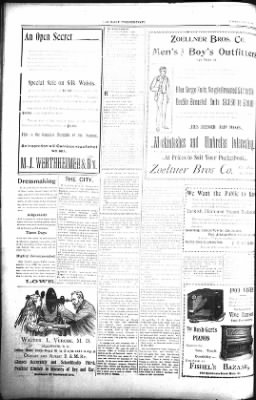 The Lead Daily Pioneer-Times from Lead, South Dakota on June 19, 1900 · Page 8