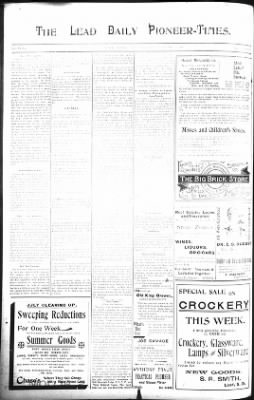 The Lead Daily Pioneer-Times from Lead, South Dakota on August 5, 1900 · Page 4