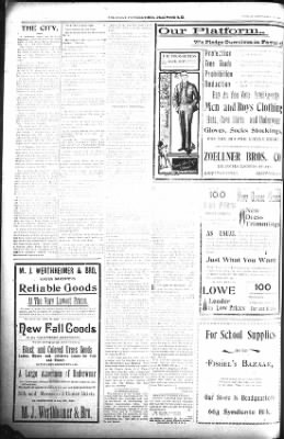 The Lead Daily Pioneer-Times from Lead, South Dakota on September 18, 1900 · Page 8