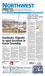 Sample Northwest Press front page