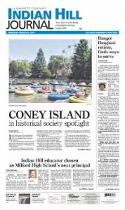 Sample Indian Hill Journal front page