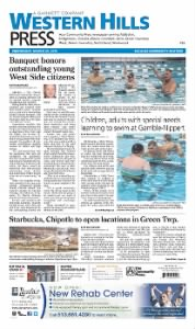 Sample Western Hills Press front page