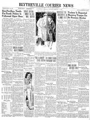 The Courier News from Blytheville, Arkansas on February 24, 1940 · Page 1