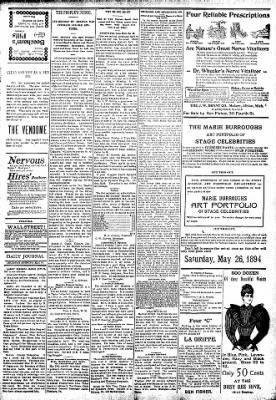 Logansport Pharos-Tribune from Logansport, Indiana on May 24, 1894 · Page 3