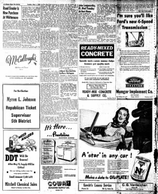 The Algona Upper Des Moines from Algona, Iowa on May 4, 1948 · Page 15