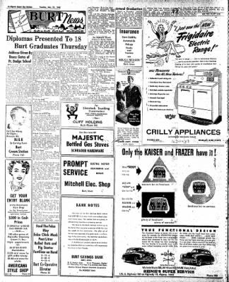 The Algona Upper Des Moines from Algona, Iowa on May 25, 1948 · Page 4