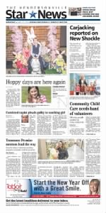 Sample The Hendersonville Star News front page
