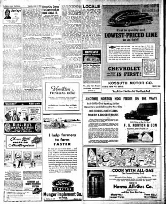The Algona Upper Des Moines from Algona, Iowa on June 8, 1948 · Page 12