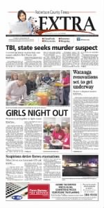Sample Robertson County Times front page