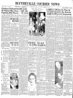 The Courier News from Blytheville, Arkansas on February 27, 1940 · Page 1