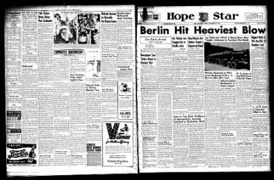 Hope Star from Hope, Arkansas on November 18, 1943 · Page 6