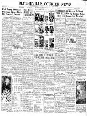 The Courier News from Blytheville, Arkansas on February 28, 1940 · Page 1