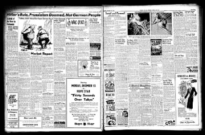 Hope Star from Hope, Arkansas on November 30, 1943 · Page 3
