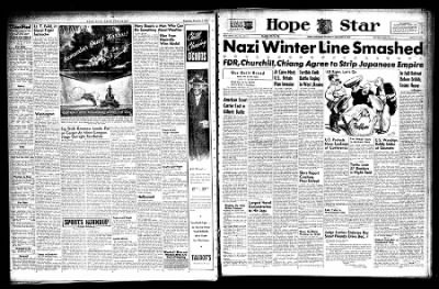 Hope Star from Hope, Arkansas on December 2, 1943 · Page 1