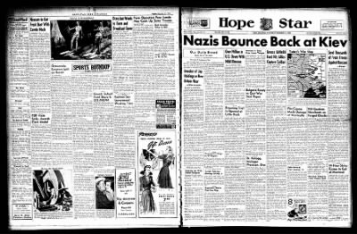 Hope Star from Hope, Arkansas on December 14, 1943 · Page 6