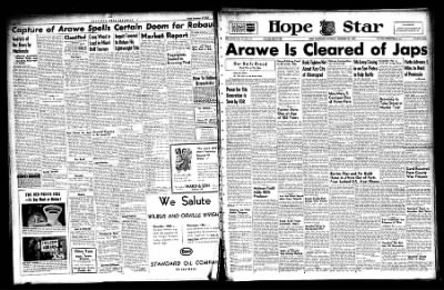 Hope Star from Hope, Arkansas on December 18, 1943 · Page 1