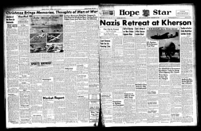 Hope Star from Hope, Arkansas on December 20, 1943 · Page 1