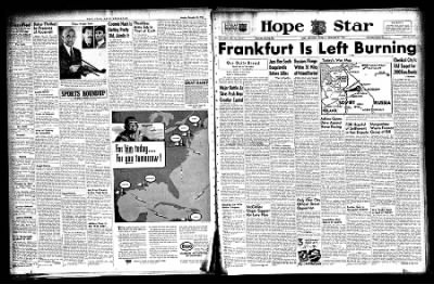 Hope Star from Hope, Arkansas on December 21, 1943 · Page 1