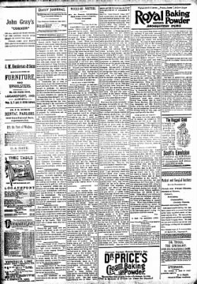 Logansport Pharos-Tribune from Logansport, Indiana on May 27, 1894 · Page 4