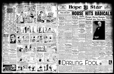 Hope Star from Hope, Arkansas on April 18, 1933 · Page 1