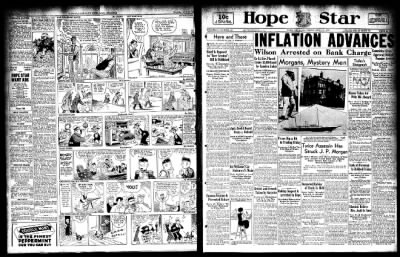 Hope Star from Hope, Arkansas on April 21, 1933 · Page 1